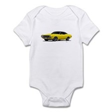 1970 Challenger Bright Yellow Infant Bodysuit