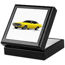 1970 Challenger Bright Yellow Keepsake Box