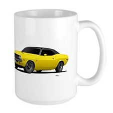 1970 Challenger Bright Yellow Mug