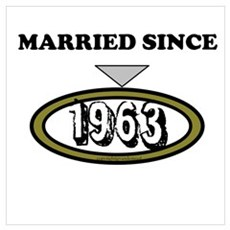 Married Since 1963 Wall Art Canvas Art