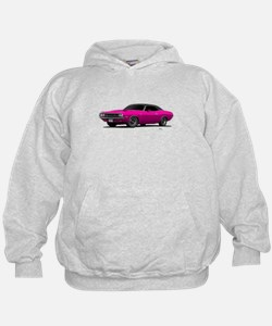 1970 Challenger Panther Pink Hoodie