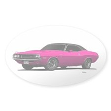 1970 Challenger Panther Pink Decal