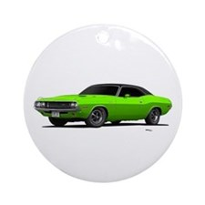 1970 Challenger Sub Lime Ornament (Round)