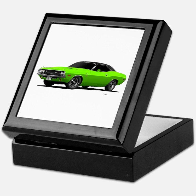1970 Challenger Sub Lime Keepsake Box