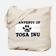 Pawperty: Tosa Inu Tote Bag