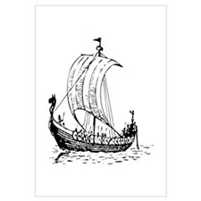 Viking Ship Wall Art