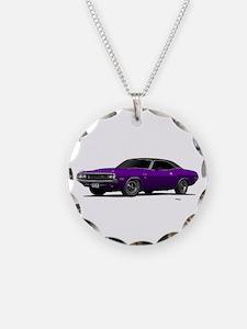 1970 Challenger Plum Crazy Necklace
