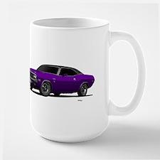 1970 Challenger Plum Crazy Large Mug