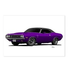 1970 Challenger Plum Crazy Postcards (Package of 8