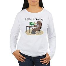 Otter illustration T-Shirt