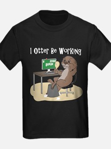 Otter illustration T