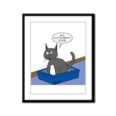 OTL Cartoon of the Week Framed Panel Print