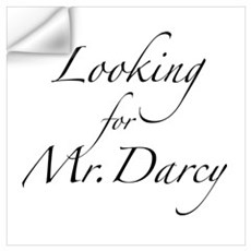 Looking for Mr. Darcy Wall Art Wall Decal