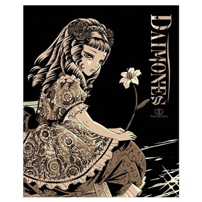 Daimones - Rose Wall Art Poster