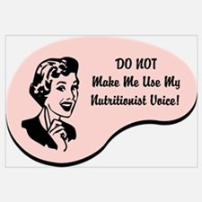 Nutritionist Voice Wall Art