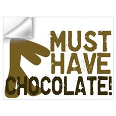 Must Have CHOCOLATE! Zombie Wall Art Wall Decal