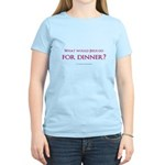 What Would Jesus Do For Dinne Women's Light T-Shir