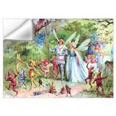 THE MARRIAGE OF THUMBELINA Wall Art Wall Decal