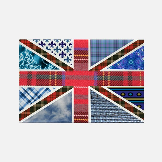 Tartan and other patterns uni Rectangle Magnet (10