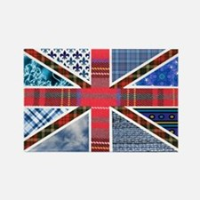 Tartan and other patterns uni Rectangle Magnet