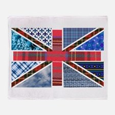 Tartan and other patterns uni Throw Blanket