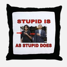 NOT A CLUE Throw Pillow