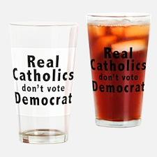Cute Christian democrat Drinking Glass