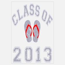 Class Of 2013 Flip Flop Wall Art