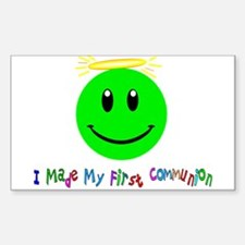 First Holy Communion Sticker (Rectangle 10 pk)