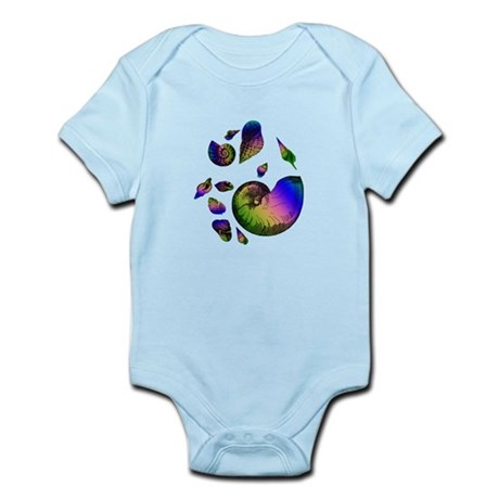 Seashells Infant Bodysuit