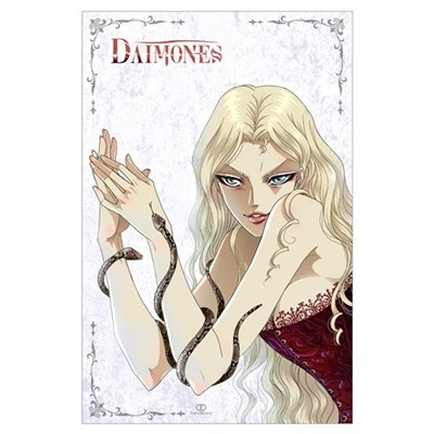 Daimones - Snakes Wall Art Poster