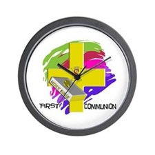 First Holy Communion Wall Clock