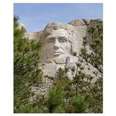 Rushmore Abe Wall Art Framed Print
