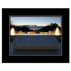 WWII Lincoln 16x20 Poster Poster