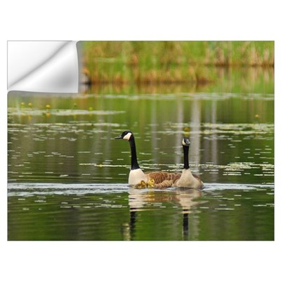 Goose Family Wall Art Wall Decal