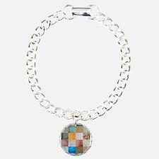 Patchwork Quilt squares patte Bracelet