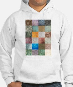 Patchwork Quilt squares patte Hoodie