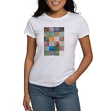 Patchwork Quilt squares patte Tee
