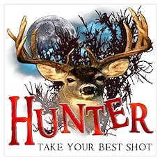 Hunter take your best shot De Wall Art Poster