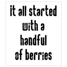 Handful of Berries Wall Art Poster