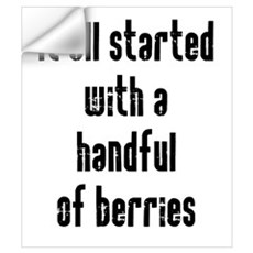 Handful of Berries Wall Art Wall Decal