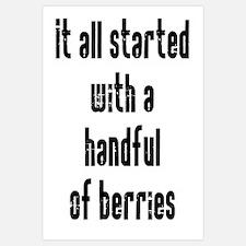Handful of Berries Wall Art