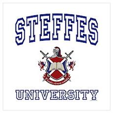 STEFFES University Wall Art Poster