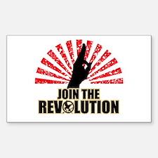 Join the Revolution Sticker (Rectangle)