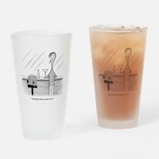 Cake Talk Drinking Glass