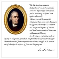 Samuel Adams Wall Art Canvas Art