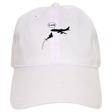 MegaShark Attacks Plane Baseball Cap