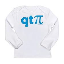 BA_T_QTPie_Blue Long Sleeve T-Shirt