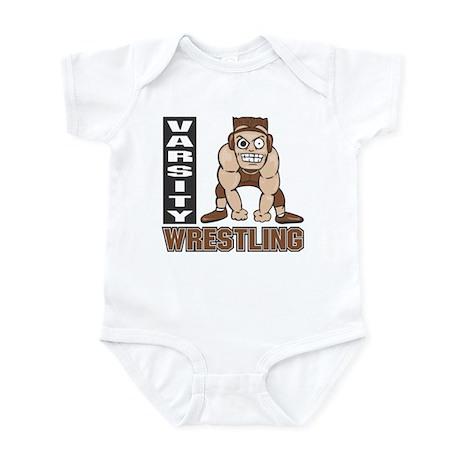 Varsity Wrestling Infant Creeper