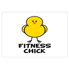 Fitness Chick Wall Art